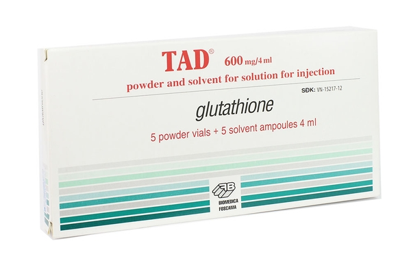 Glutathione 600mg/4ml TAD