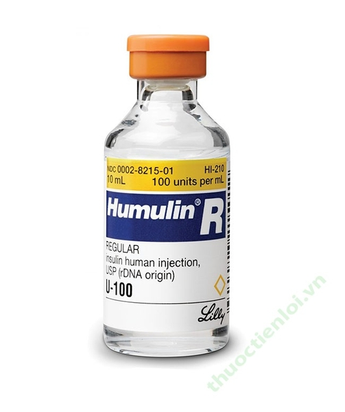 HUMULIN REGULAR INJ 100IU 10ML B/1