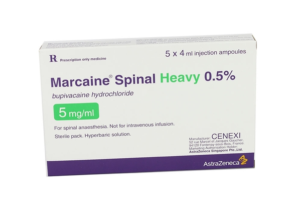 MARCAINE SPINAL HEAVY 0.5%