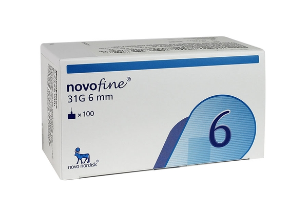 NOVOFINE NEEDLE 31G B/100