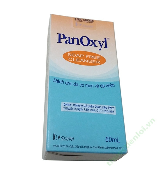 PANOXYL SOAP FREE CLEANSER