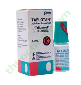 TAFLOTAN OPHTHALMIC 2.5ML
