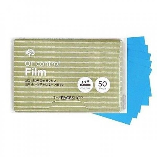 Giấy thấm dầu The face shop oil control film