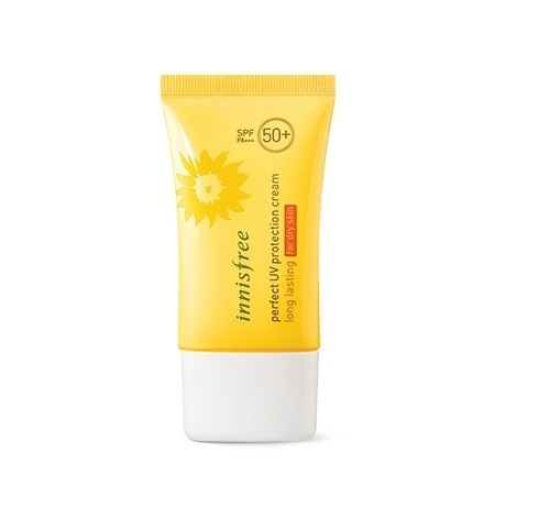 Kem chống nắng Innisfree cho da khô – perfect UV protection cream long lasting