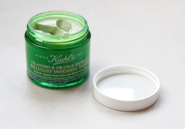 Mặt Nạ ngủ Kiehl's Cilantro & Orange Extract Pollutant Defending Masque minisize 14ml