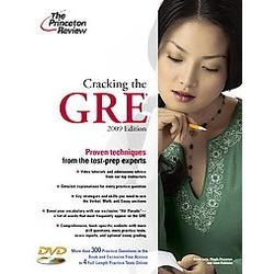 Cracking the GRE with DVD2009
