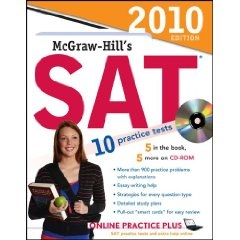 McGraw-Hill's SAT with CD-ROM, 2010 Edition