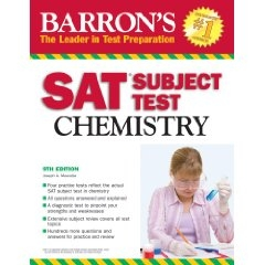 Barron's SAT Subject Test Chemistry