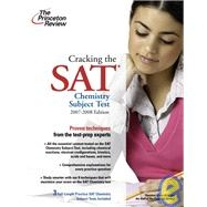 Cracking the SAT chemistry 07-08
