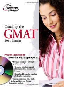 Cracking the GMAT with DVD, 2011 Edition