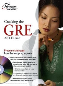 Cracking the GRE with DVD, 2011 Edition