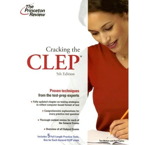 Cracking the CLEP, 5th Edition (College Test Preparation) (Paperback)