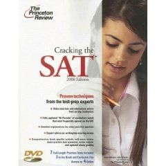 Cracking the SAT with DVD, 2008 Edition (College Test Preparation) (Paperback)