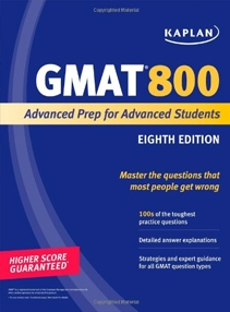 GMAT 800: Advanced Prep for Advanced Students