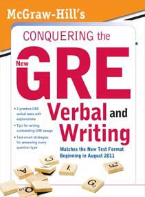 Conquering the New GRE Verbal and Writing