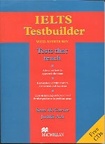IELTS Testbuilder with Answer Key and free Audio CDs