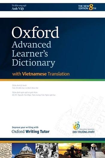 Oxford Advanced Learner's Dictionary 8th Edition with Vietnamese translation