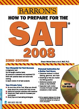 How to Prepare for the SAT 2008, with CD-Rom, 23rd Edition
