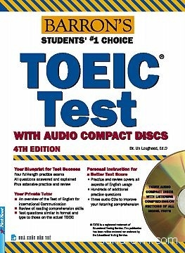 Toeic Test Of English For International Communication (Dùng Kèm 3 Đĩa CD)