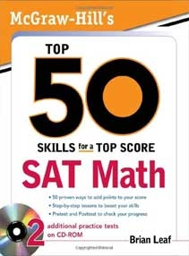 Top 50 Skills for a Top Score: SAT Math with CD
