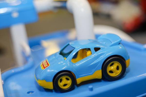 mẫu xe đua virage trưng bày tại triển lãm thiếu nhi 01062019