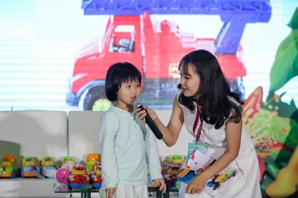 mc Polesie vận hành minigame game show tại triển lãm 01062019