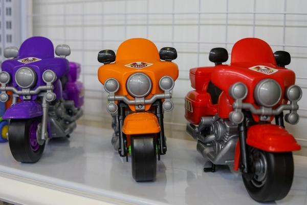mẫu xe harley 8947 trưng bày tại vietbaby fair 01062019