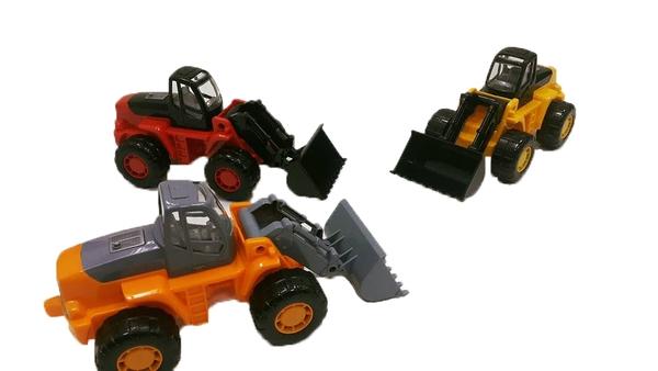 3 màu xe xúc cát cỡ nhỏ cho bé