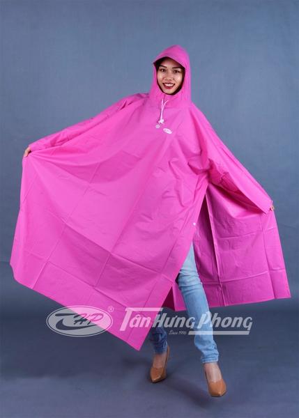 Áo mưa xẻ cạnh thời trang