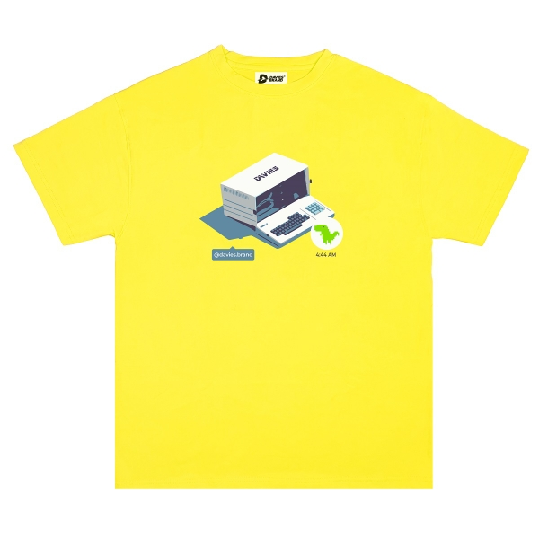 DSS Tee 4:44 AM-Yellow