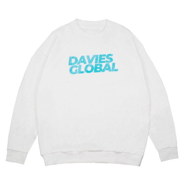 DSS SWEATER EARTH ICON - WHITE