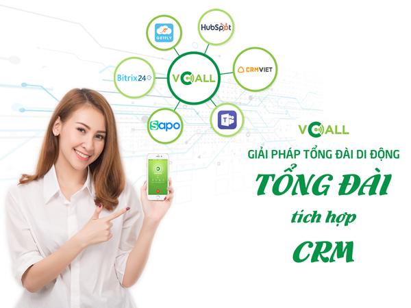 Tích hợp CRM và hệ thống tổng đài