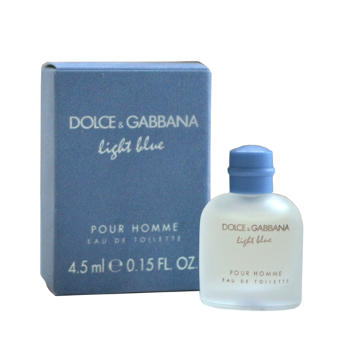 Nước hoa nam mini DG Light Blue Pour Homme EDT 4.5mL