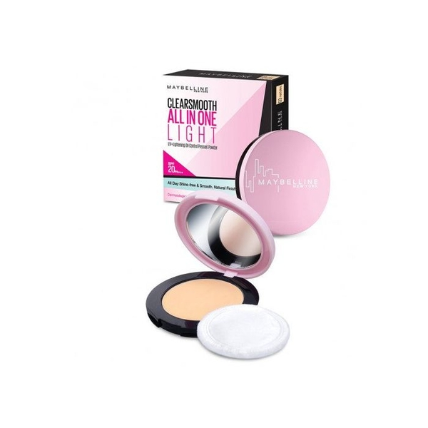 Phấn Phủ Mịn Da Kiềm Dầu Maybelline Clear Smooth All In One Powder 9g- SỐ 3