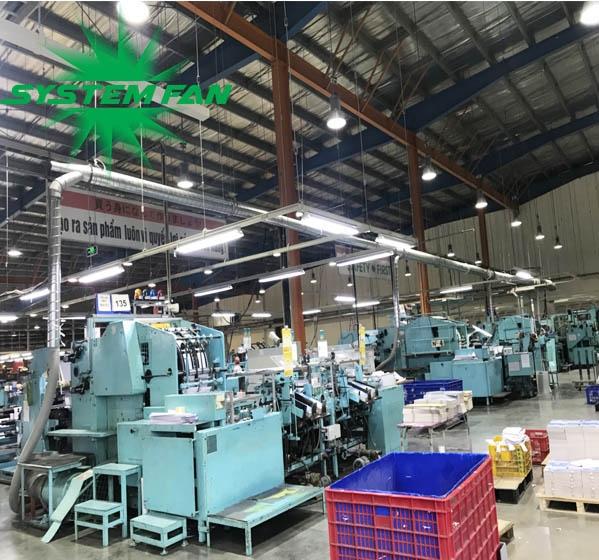 Cung cấp máy hút bụi giấy Cyclone vận chuyển phôi giấy tại Cty TNHH Kokuyo Việt Nam-3