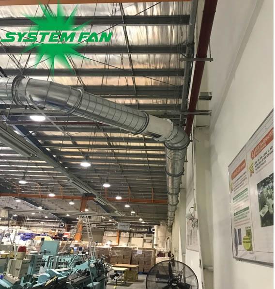 Cung cấp máy hút bụi giấy Cyclone vận chuyển phôi giấy tại Cty TNHH Kokuyo Việt Nam-5