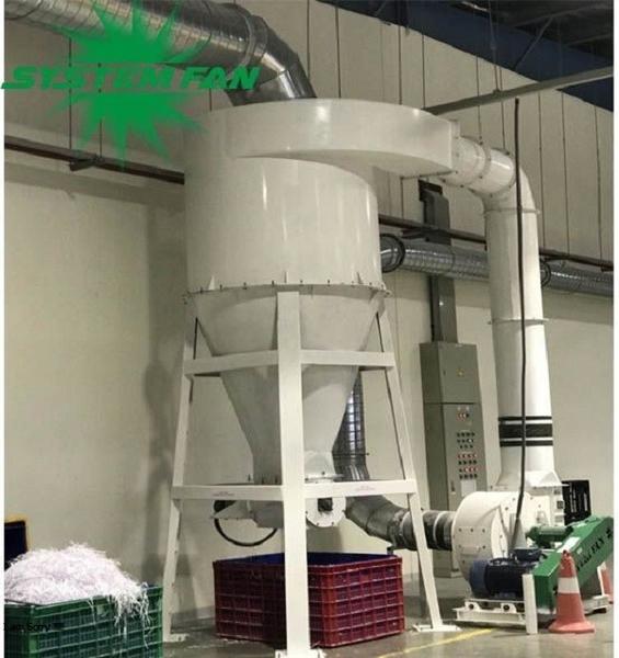 Hệ thống hút bụi giấy cho dây chuyền sản xuất của nhà máy Kokuyo