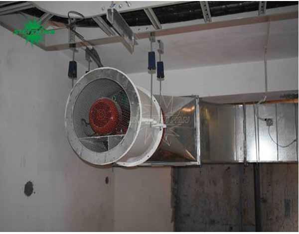 Thi công hệ thống thông gió, phòng cháy chữa cháy cho khách sạn Bavico