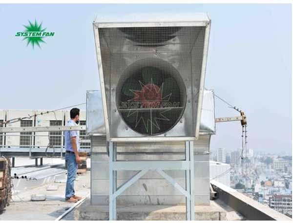 Hệ thống thông gió, phòng cháy chữa cháy cho khách sạn Bavico