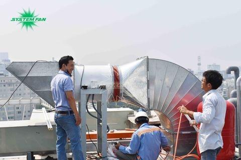 Hệ thống thông gió, phòng cháy chữa cháy cho khách sạn Bavico do System Fan Việt Nam triển khai