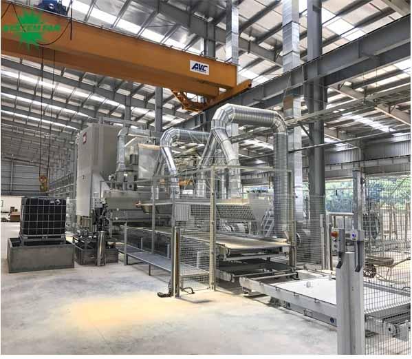 Hệ thống xử lý khí cho nhà máy Đá Trắng Bảo Lai.