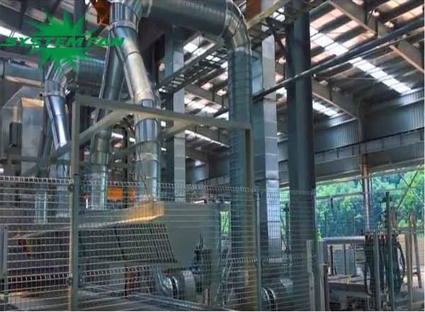 Thi công và lắp đặt hệ thống xử lý khí cho nhà máy Đá Trắng Bảo Lai