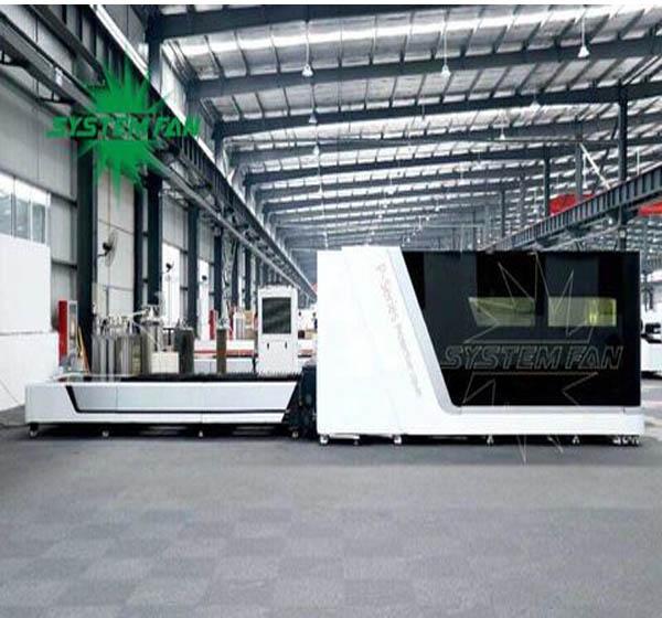 Máy cắt Faber Lazer của System Fan Việt Nam