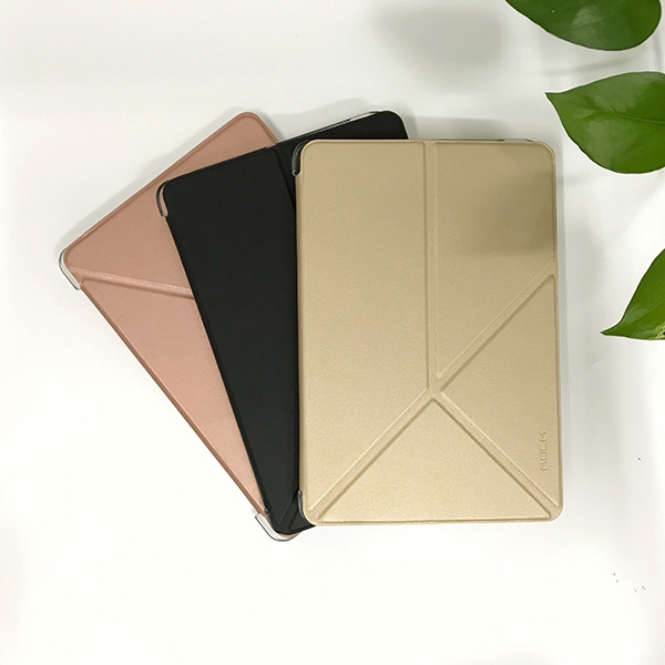 Bao da Rock-iPad Mini 1/2/3-Đen/Gold/Rose Gold