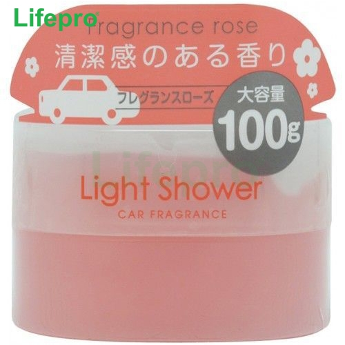 Sáp thơm ô tô Diax Light Shower Poppy mùi Fragrance Rose