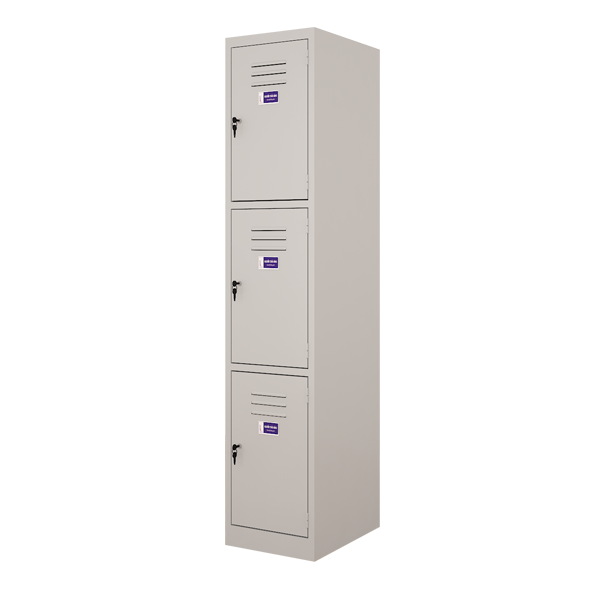 Three doors locker (Single row)
