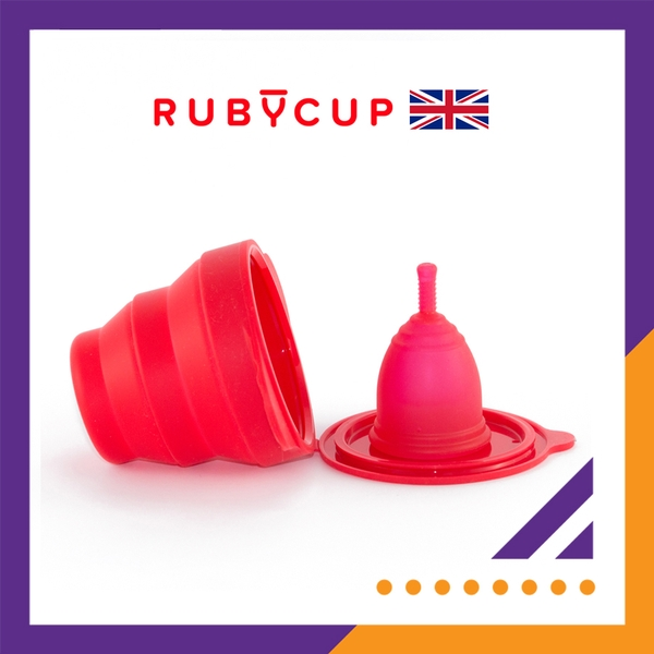 Combo Ruby cup & Ruby clean (Đỏ)