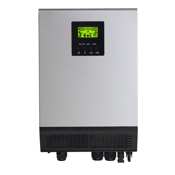 Máy inverter Off-Grid MKS plus duo 5kw-48vol 2MPPT (48VDC, 6000W MPPT SCC)