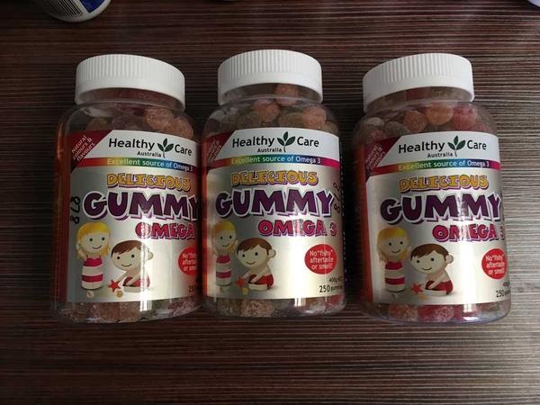 Kẹo Gummy Bổ sung Dầu Cá và Vitamin các loại - 4