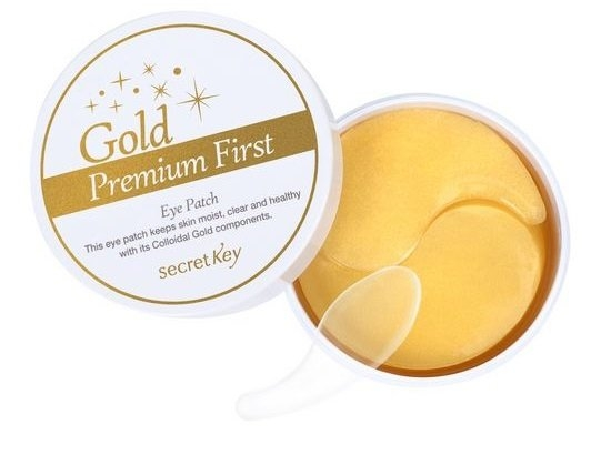 MẶT NẠ CHO MẮT SECRET KEY GOLD PREMIUM FIRST EYE PATCH | Jolicosmetic.vn